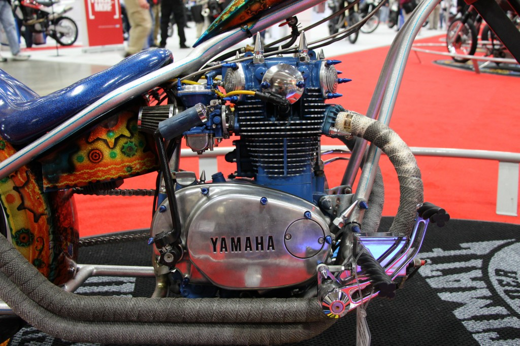 Custom Yamaha XS650 Bobber